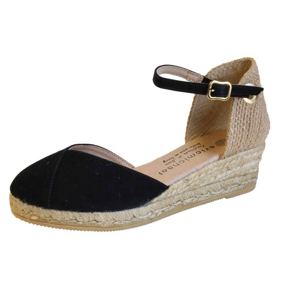 6551a4e487d Eric Michael - Womens Copa Sandals Black
