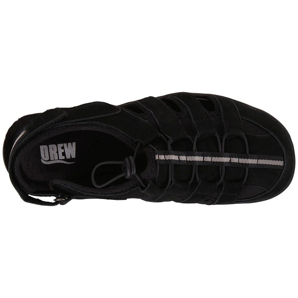 420556c1bef Drew - Mens Hamilton Sandals Black Nubuck