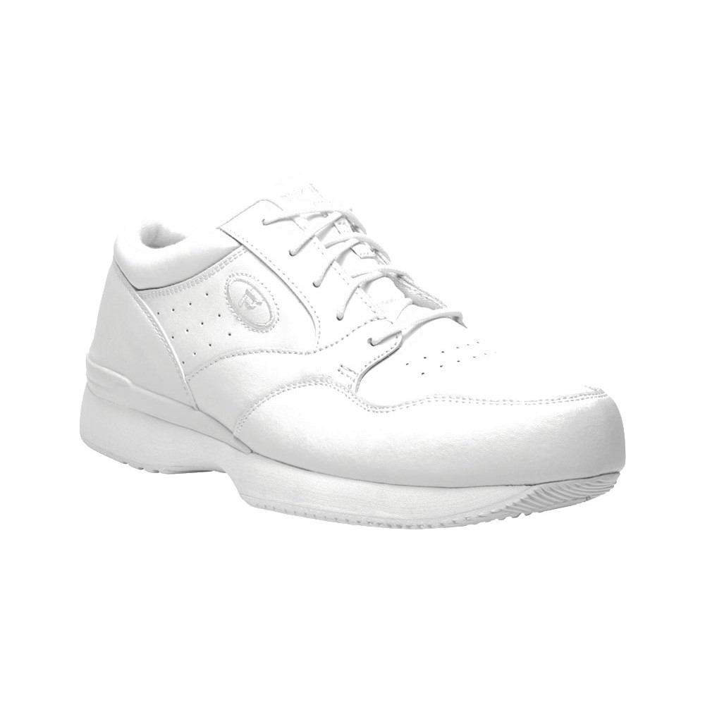 Propet - Mens Lifewalker Leather Sneakers