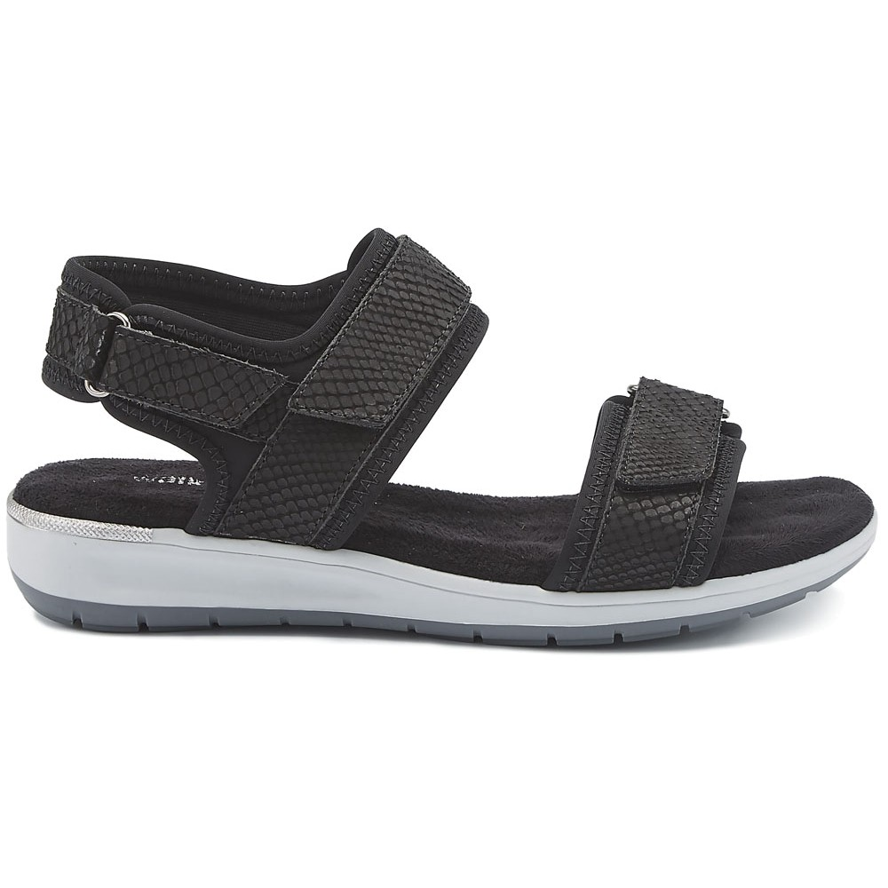c81fcf9a1e9a Walking Cradles - Womens Shea Sandals Black Lycra
