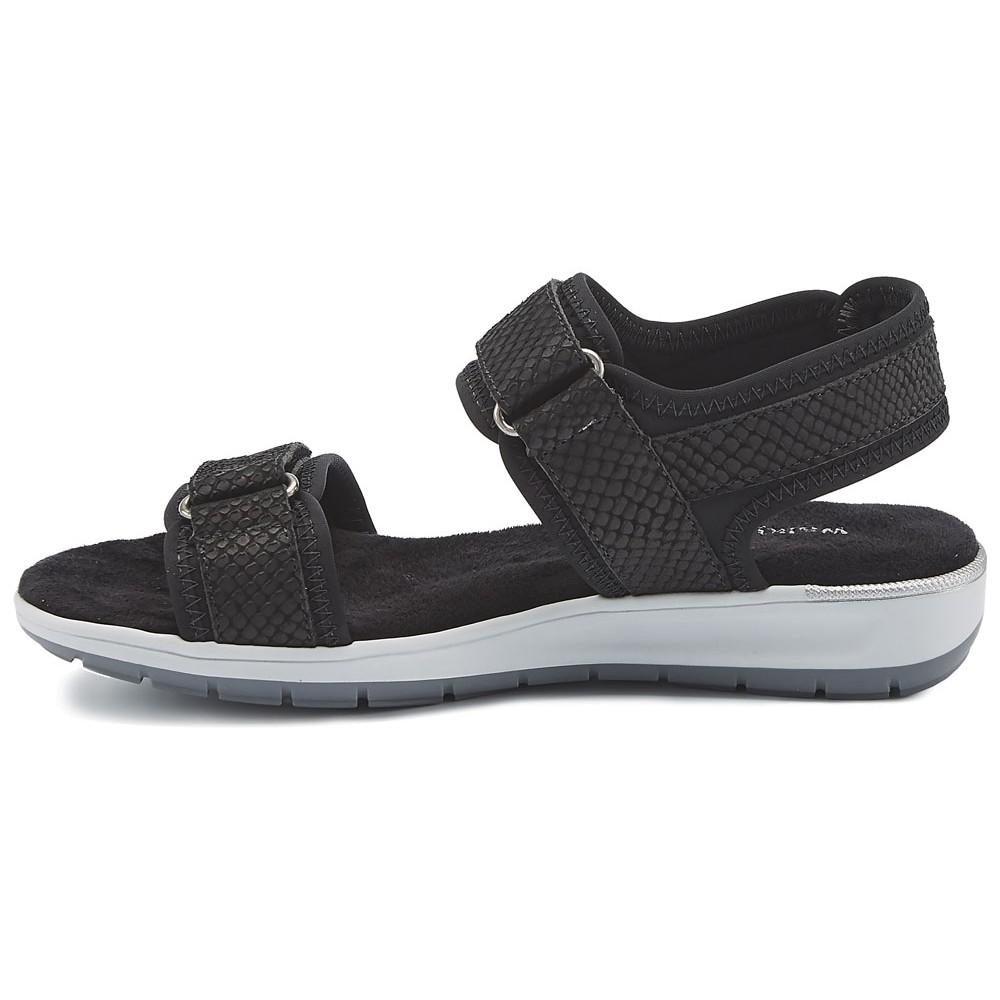 c81fcf9a1e9a Walking Cradles - Womens Shea Sandals Black Lycra