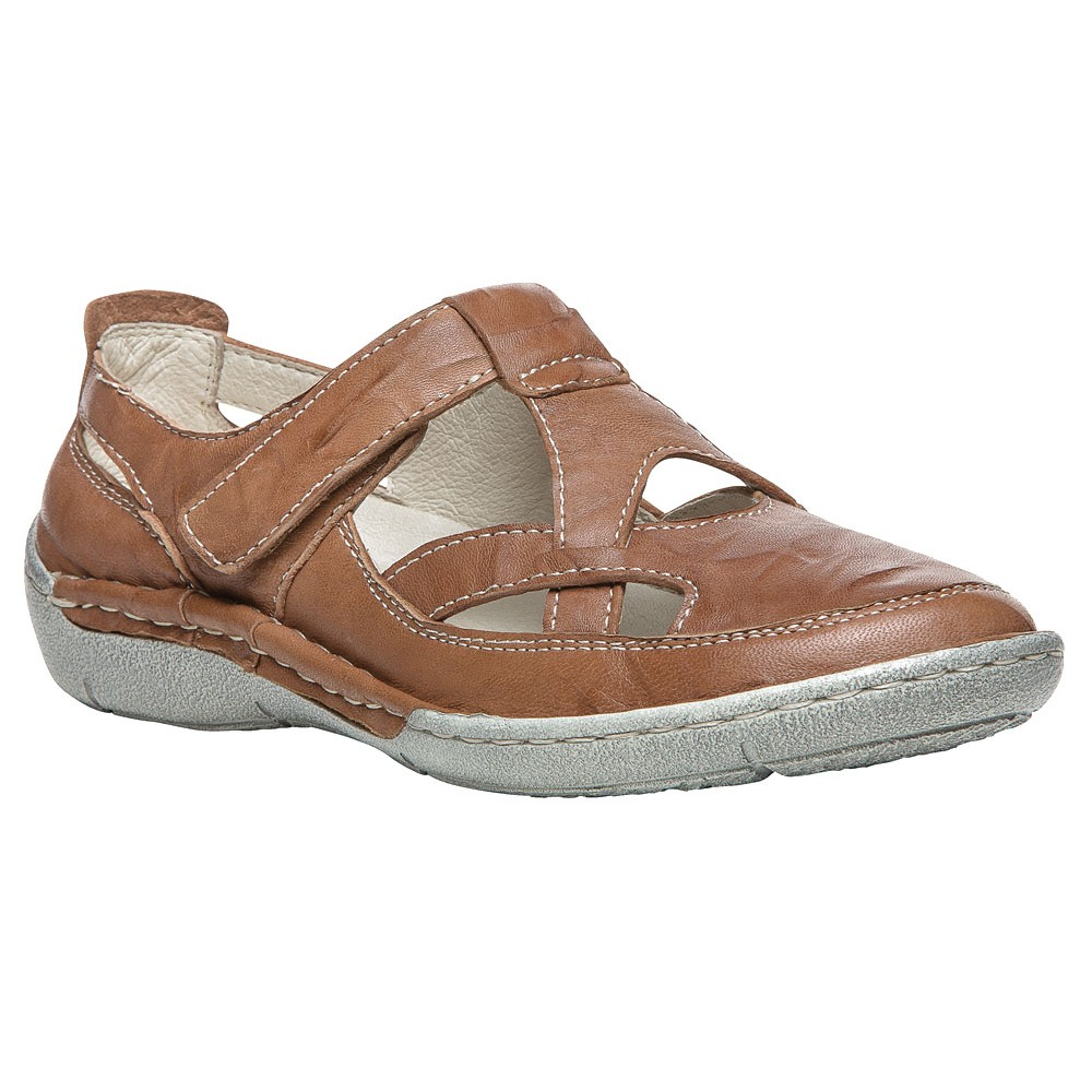 Propet - Womens Caylee Leather Flats