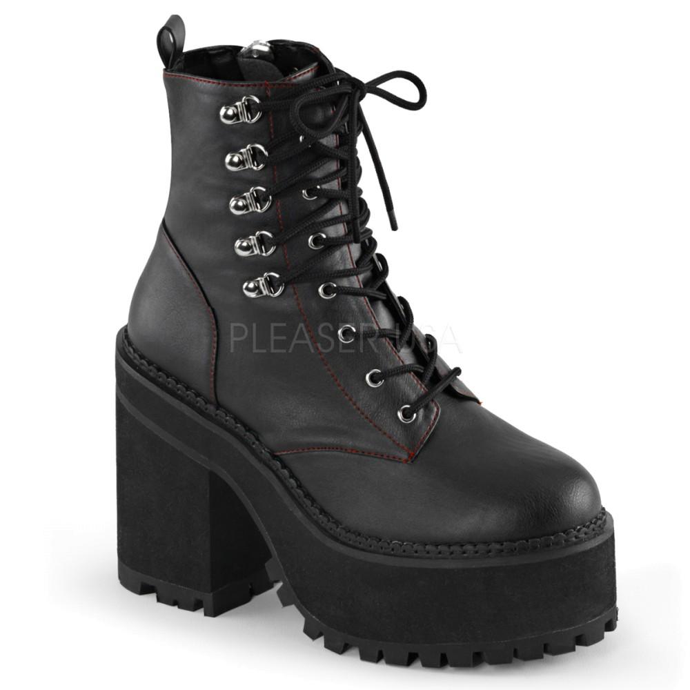 Demonia - Womens ASSAULT-100 Vegan Boots