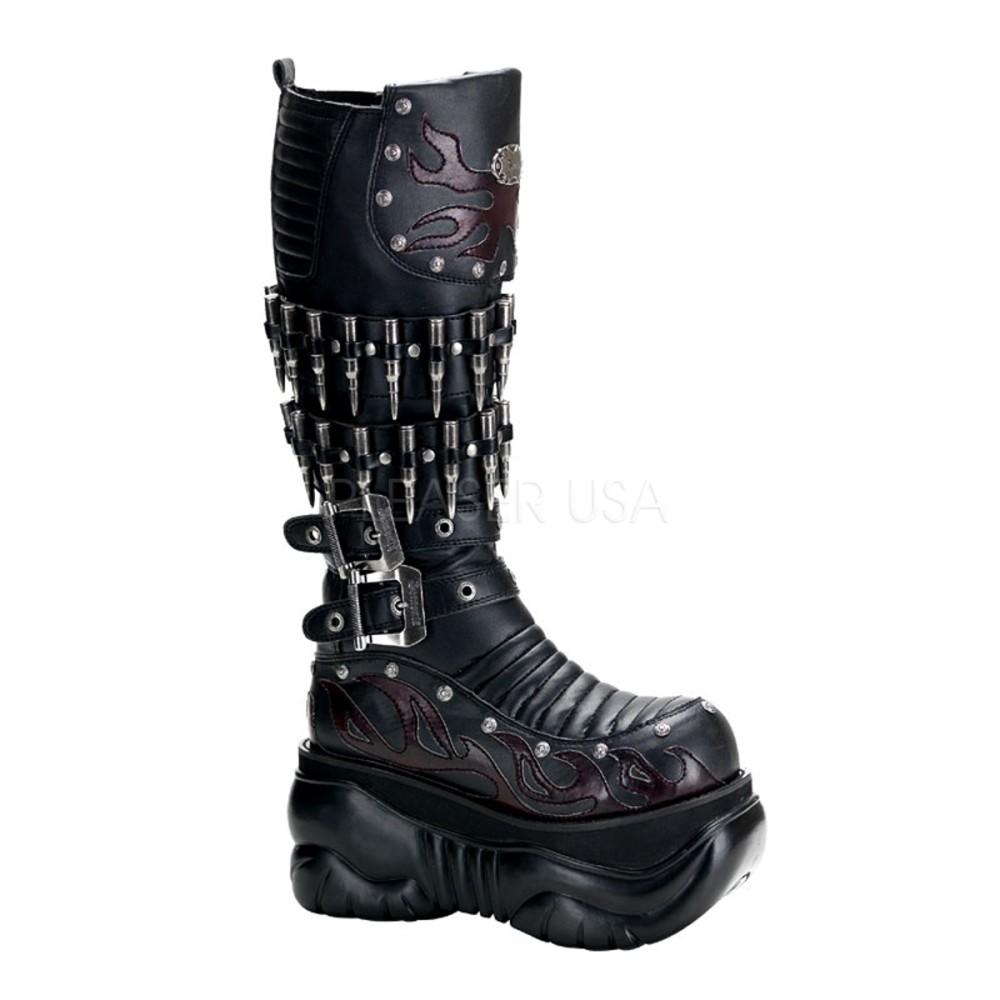 Demonia - Mens BOXER-201 Vegan Boots
