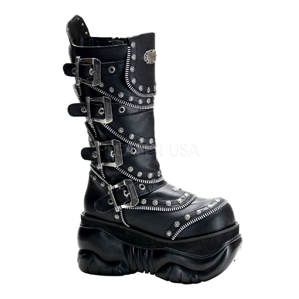 Demonia - Mens BOXER-203 Vegan Boots
