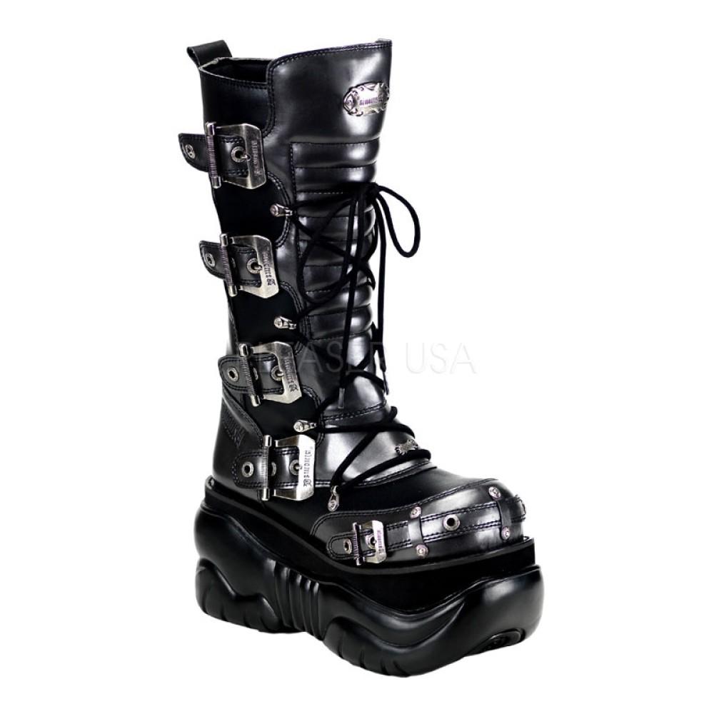 Demonia - Unisex BOXER-205 Vegan Boots