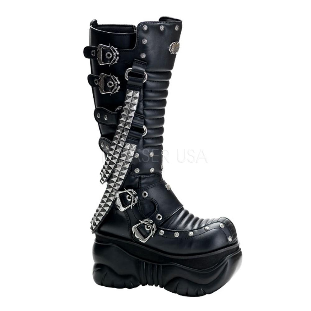 Demonia - Mens BOXER-206 Vegan Boots
