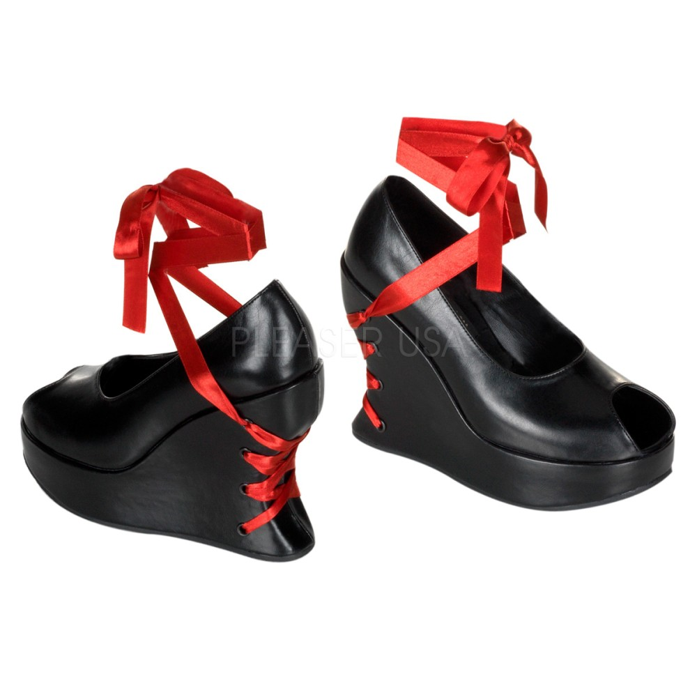 Demonia - Womens BRAVO-03 Platform Sandals & Shoes