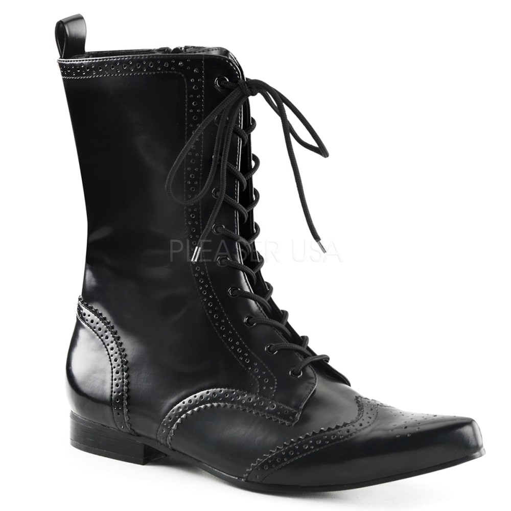 Demonia - Unisex BROGUE-10 Vegan Boots