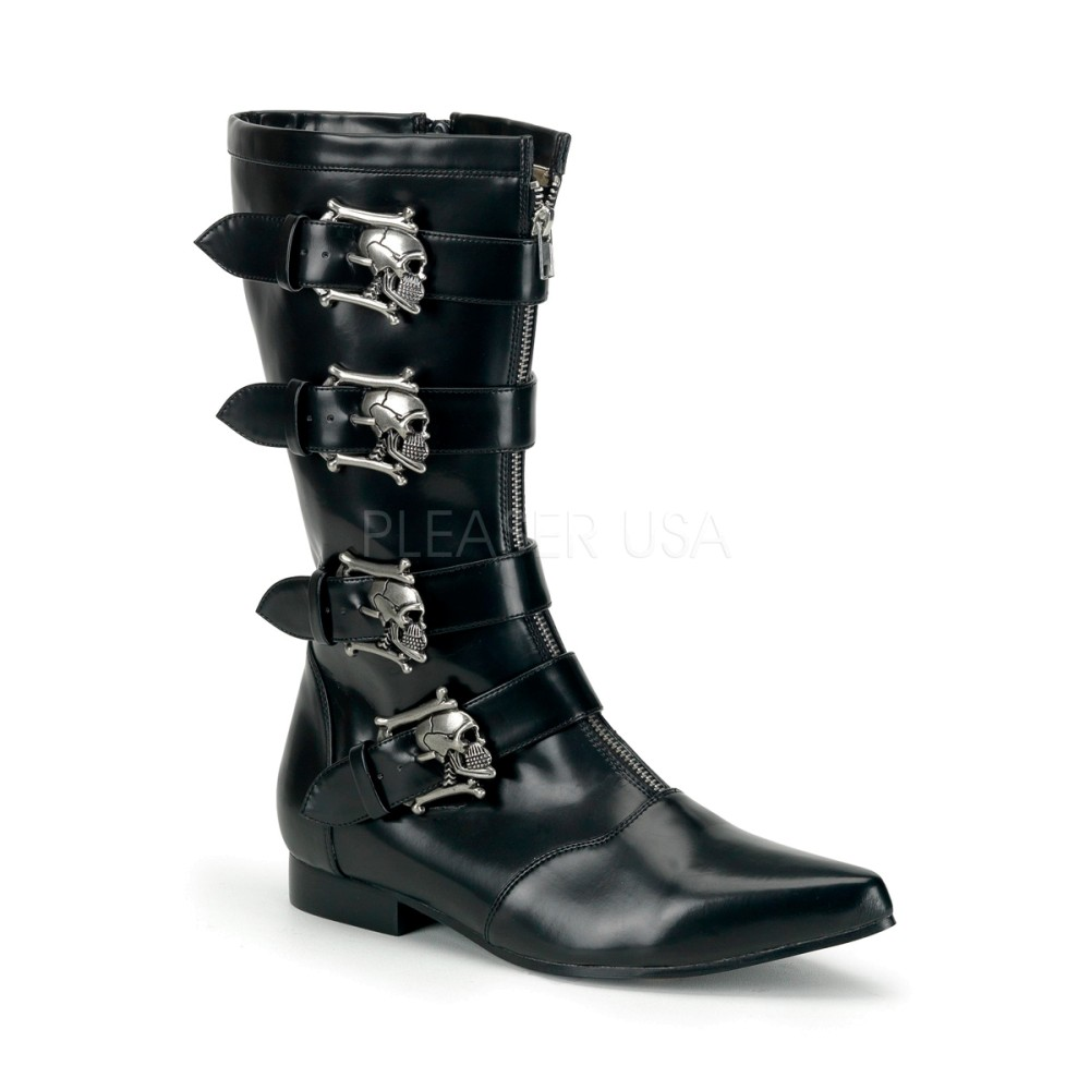 Demonia - Mens BROGUE-107 Vegan Boots