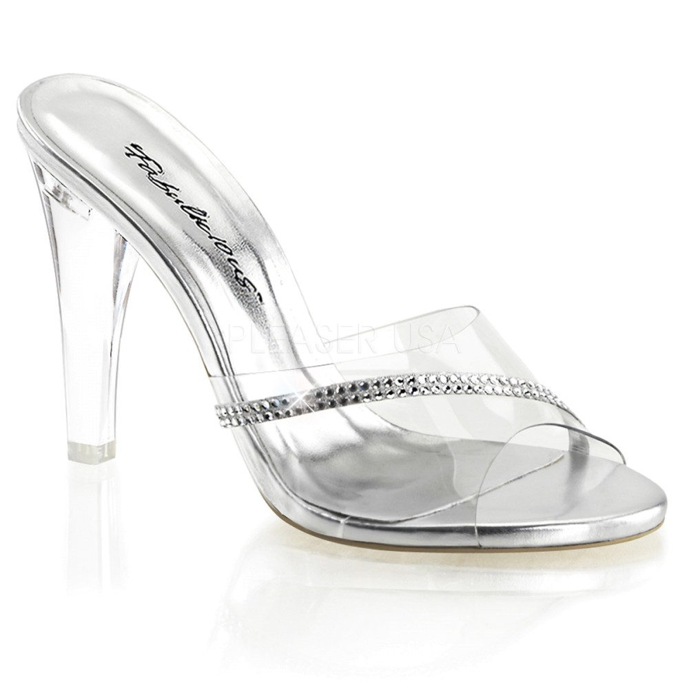 Fabulicious - Womens CLEARLY-401R Shoes