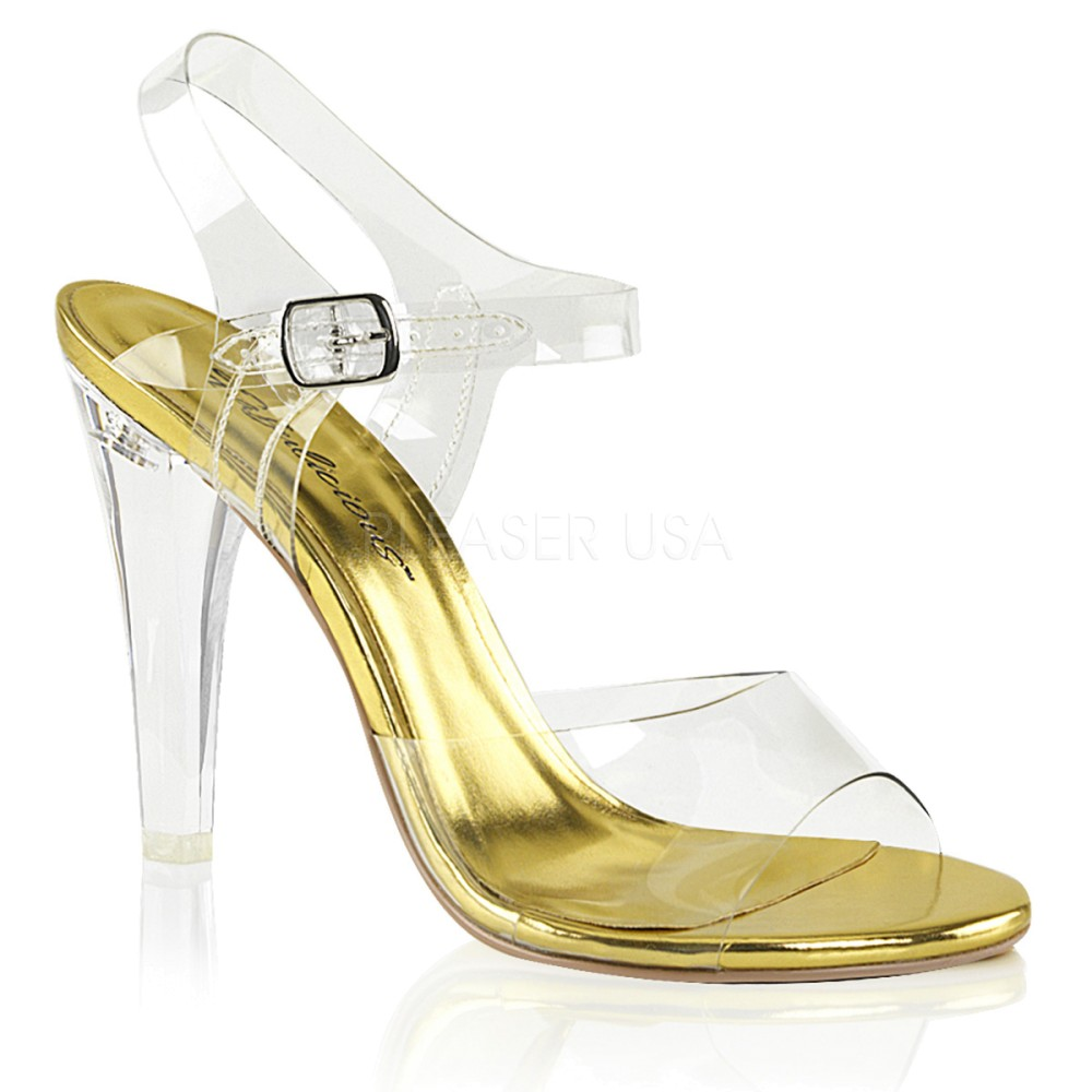 Fabulicious - Womens CLEARLY-408 Shoes