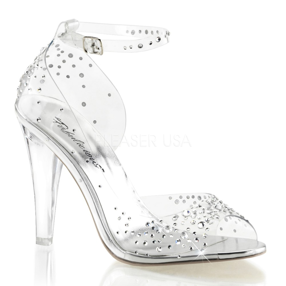 Fabulicious - Womens CLEARLY-430RS Shoes