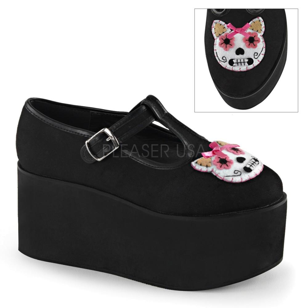 Demonia - Womens CLICK-04-1 Platform Sandals & Shoes