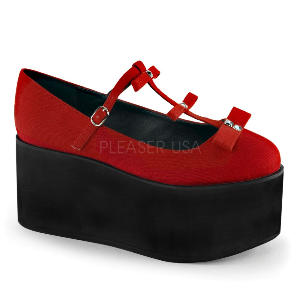 Demonia - Womens CLICK-08 Platform Sandals & Shoes