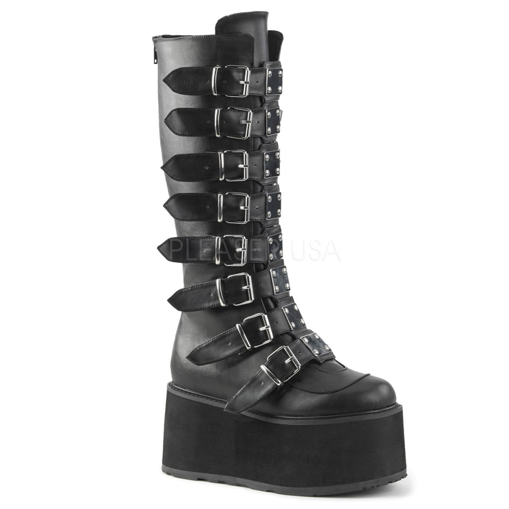 Demonia - Womens DAMNED-318 Vegan Boots