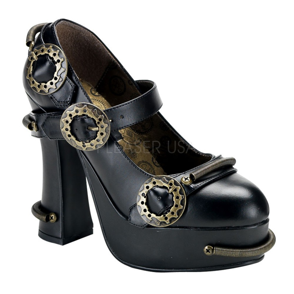 Demonia - Womens DEMON-29 Platform Sandals & Shoes