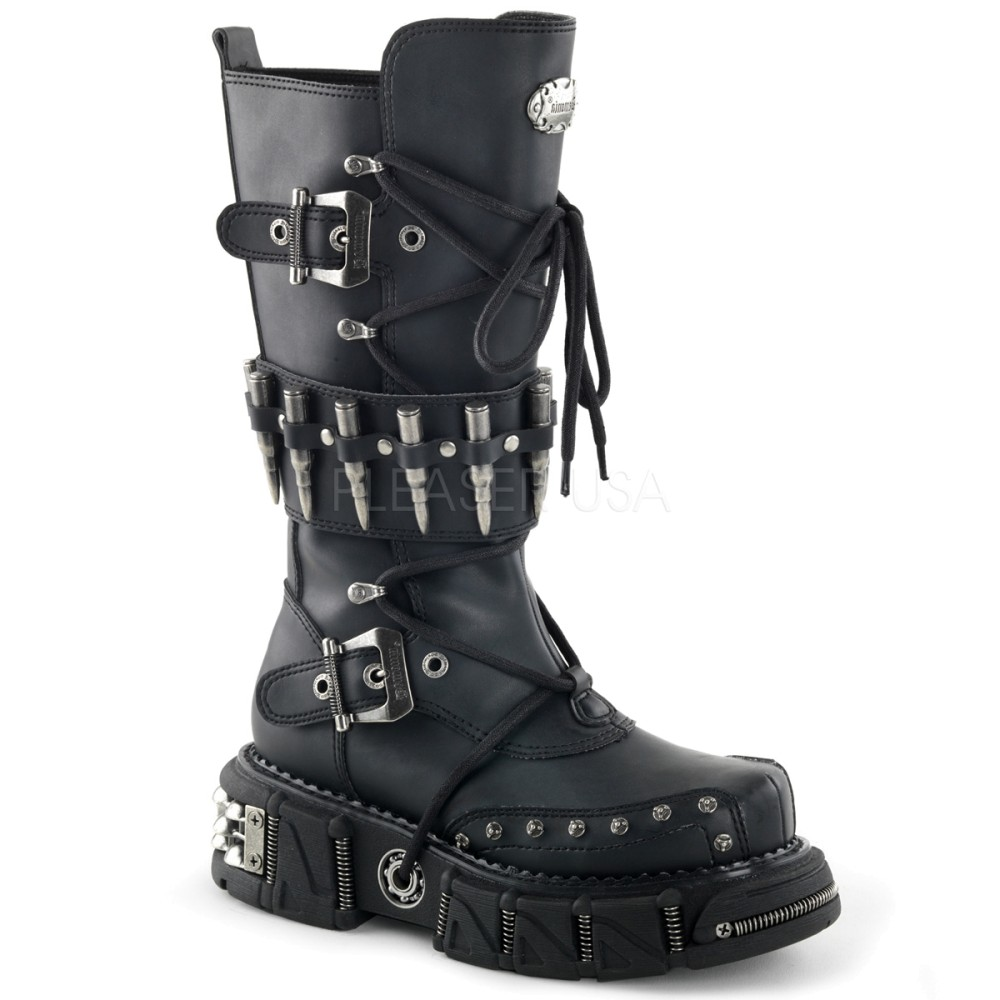 Demonia - Mens DMA-3002 Vegan Boots