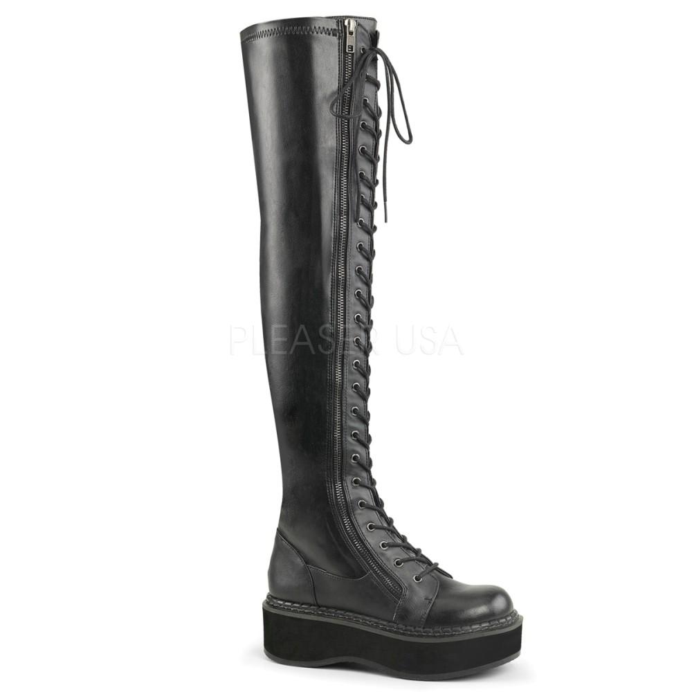 Demonia - Womens EMILY-375 Vegan Boots