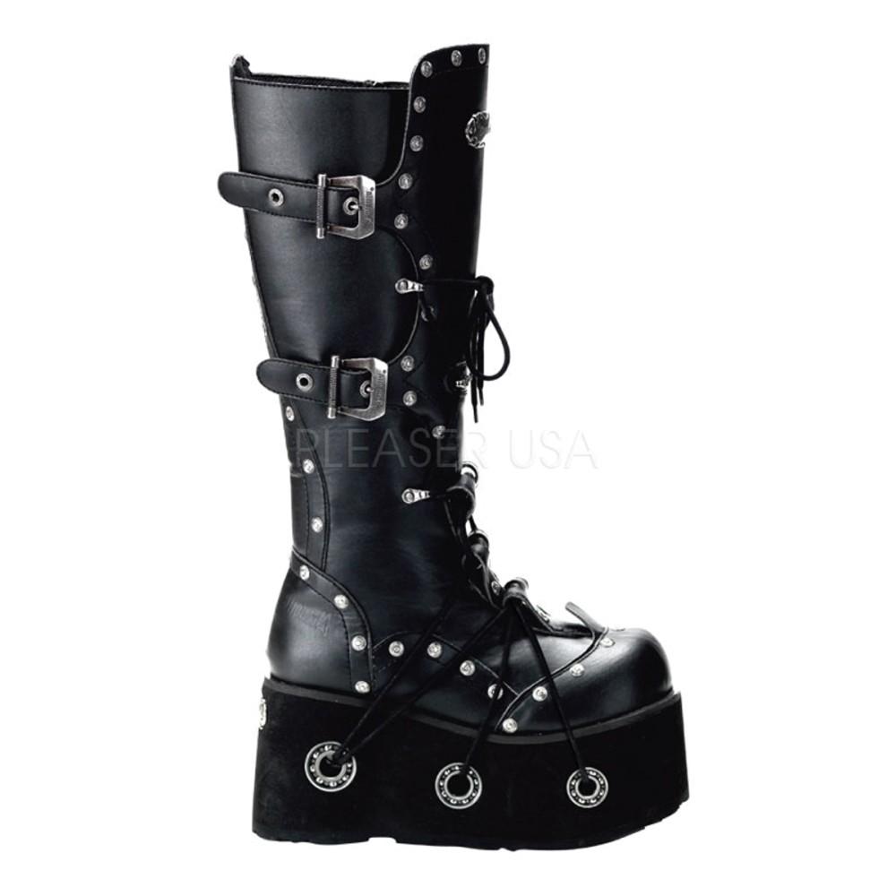 Demonia - Unisex FURIOUS-301 Vegan Boots