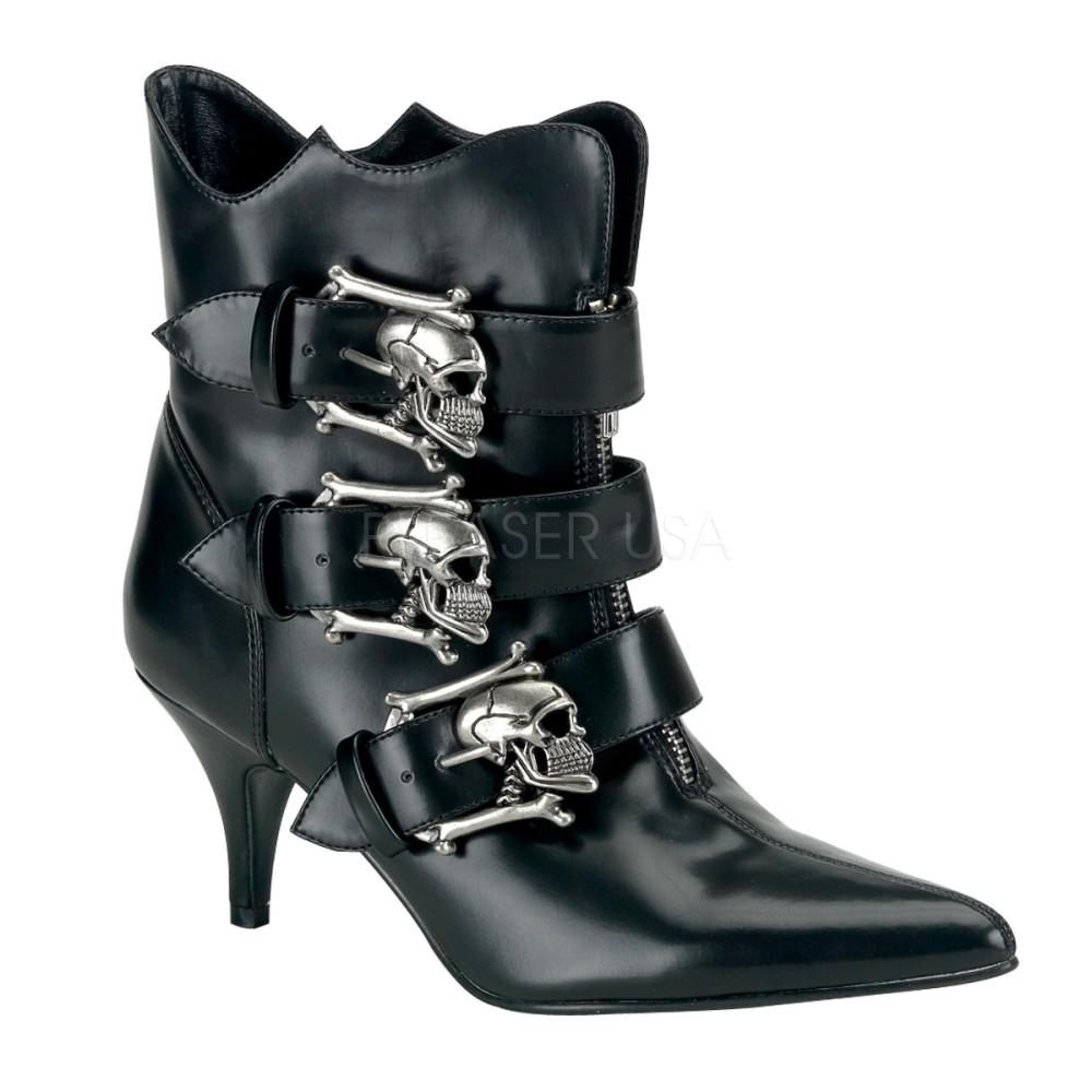 Demonia - Womens FURY-06 Vegan Boots