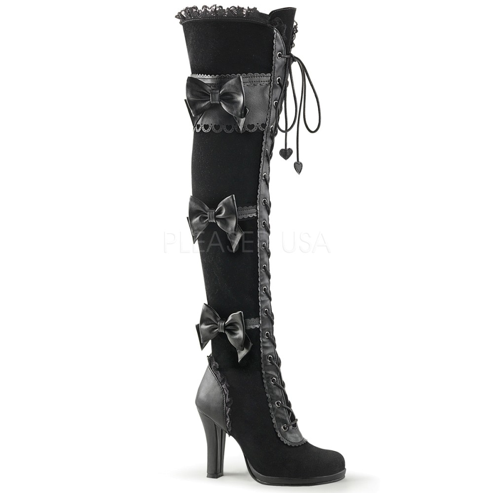 Demonia - Womens GLAM-300 Vegan Boots