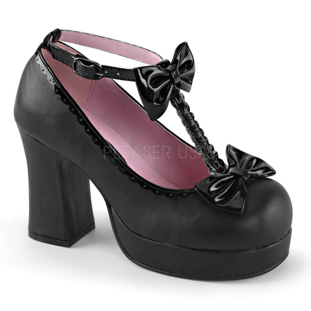 Demonia - Womens GOTHIKA-04 Platform Sandals & Shoes