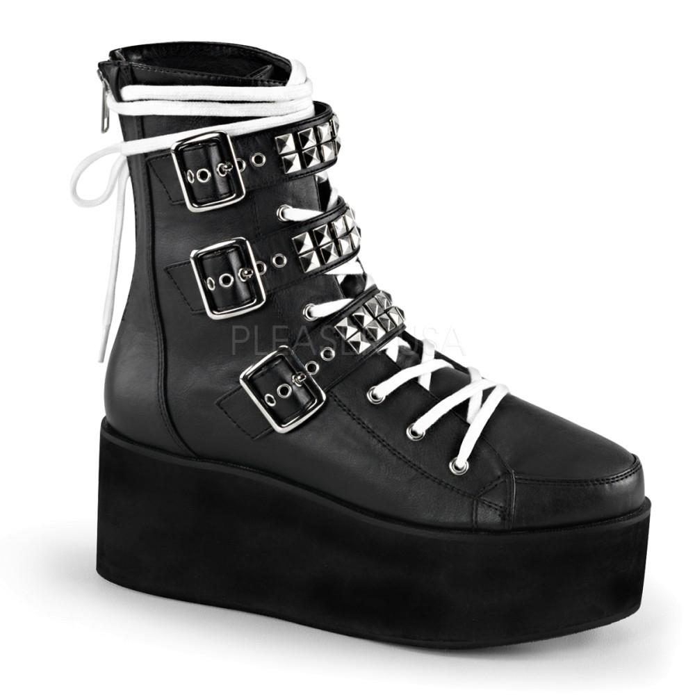 Demonia - Womens GRIP-101 Vegan Boots