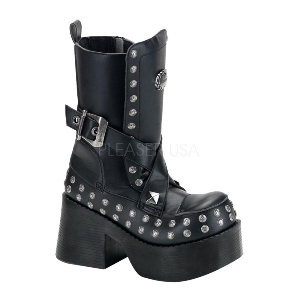 Demonia - Womens PLATOON-205 Vegan Boots