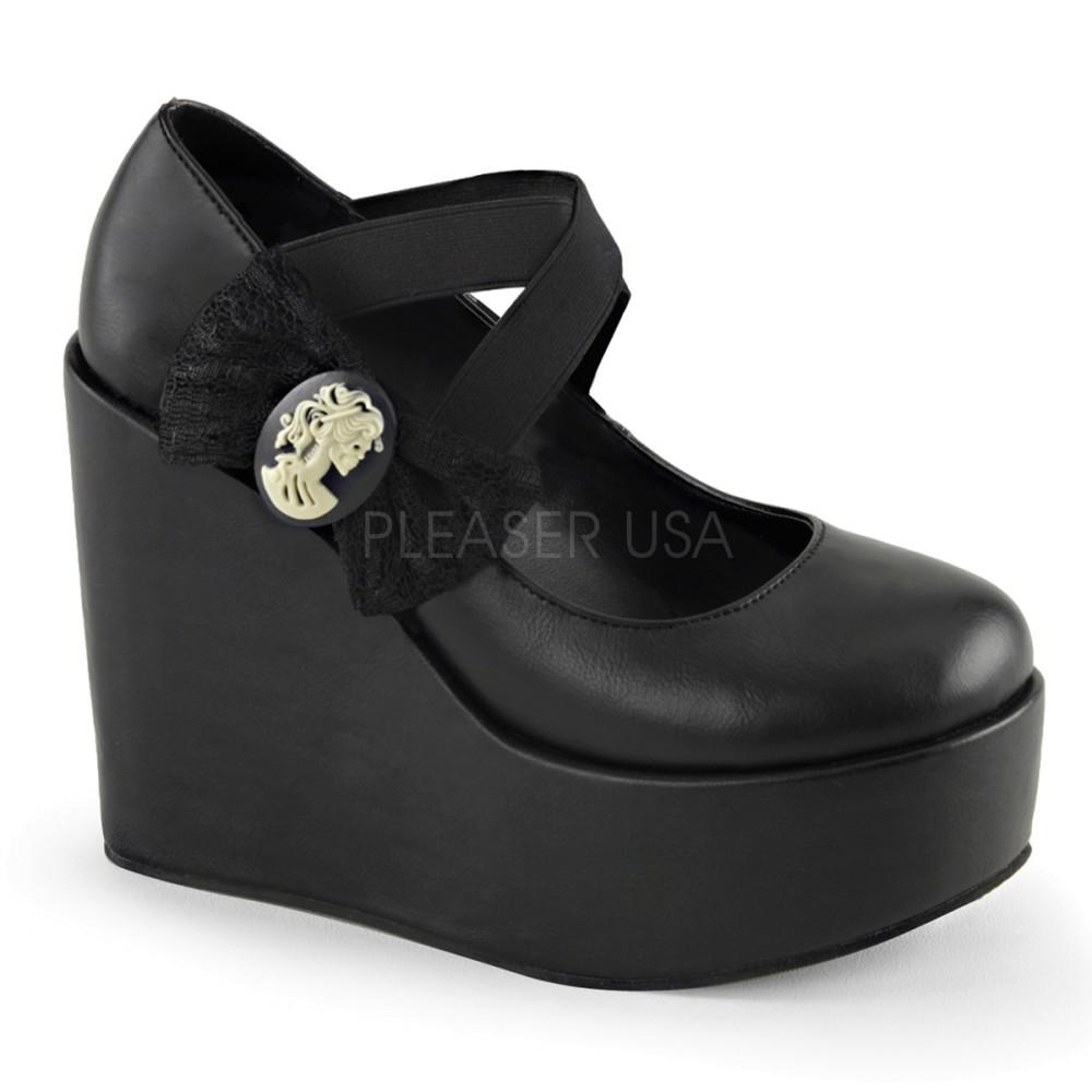 Demonia - Womens POISON-02 Platform Sandals & Shoes