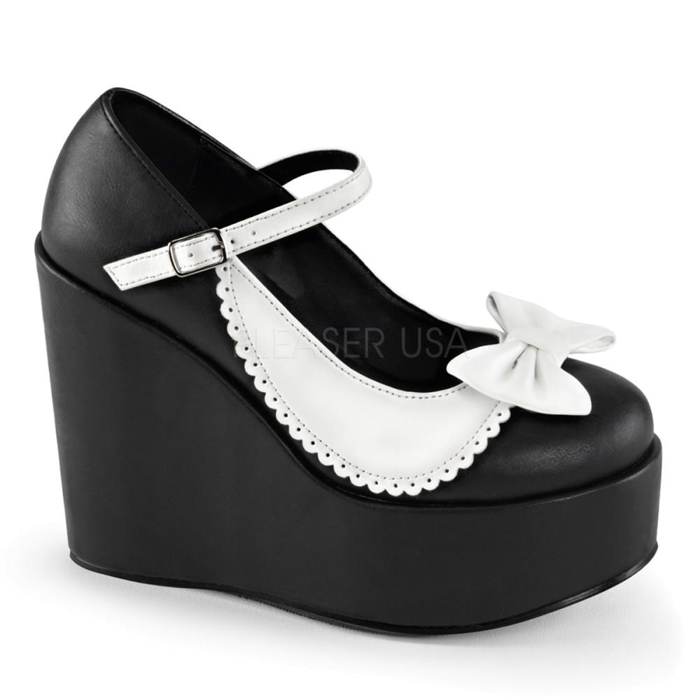 Demonia - Womens POISON-04 Platform Sandals & Shoes