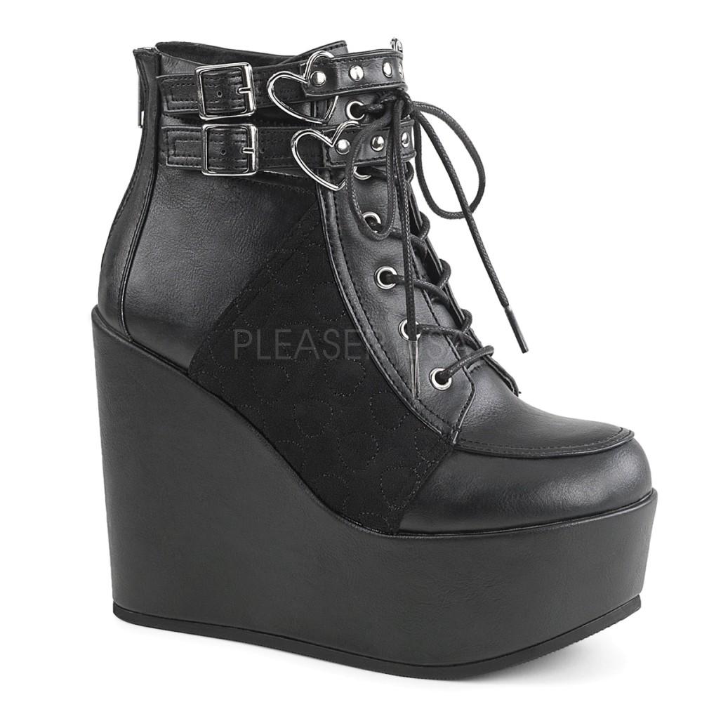 Demonia - Womens POISON-105 Vegan Boots