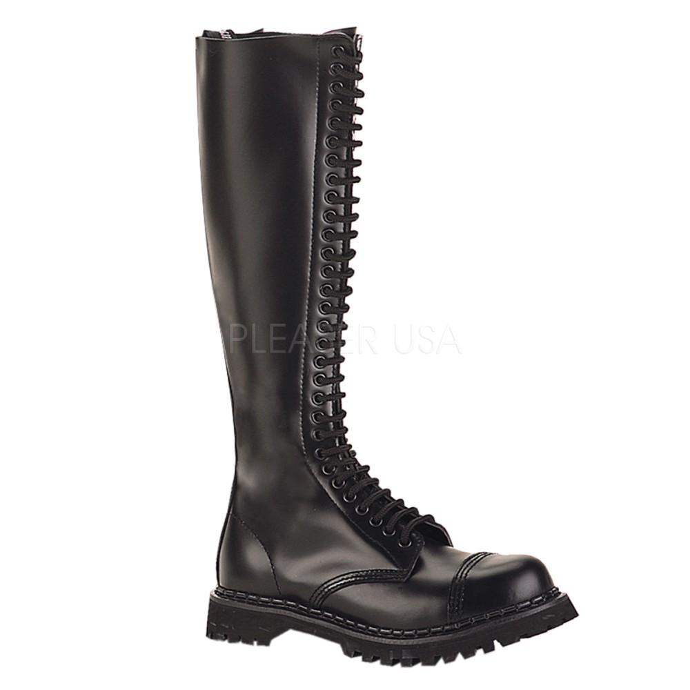 Demonia - Mens ROCKY-30 Leather Shoes & Boots
