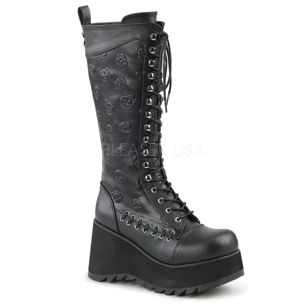 Demonia - Womens SCENE-107 Vegan Boots