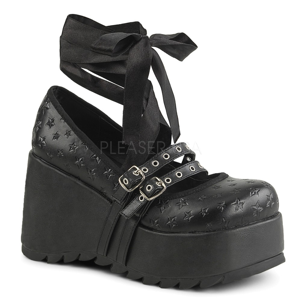 Demonia - Womens SCENE-20 Platform Sandals & Shoes