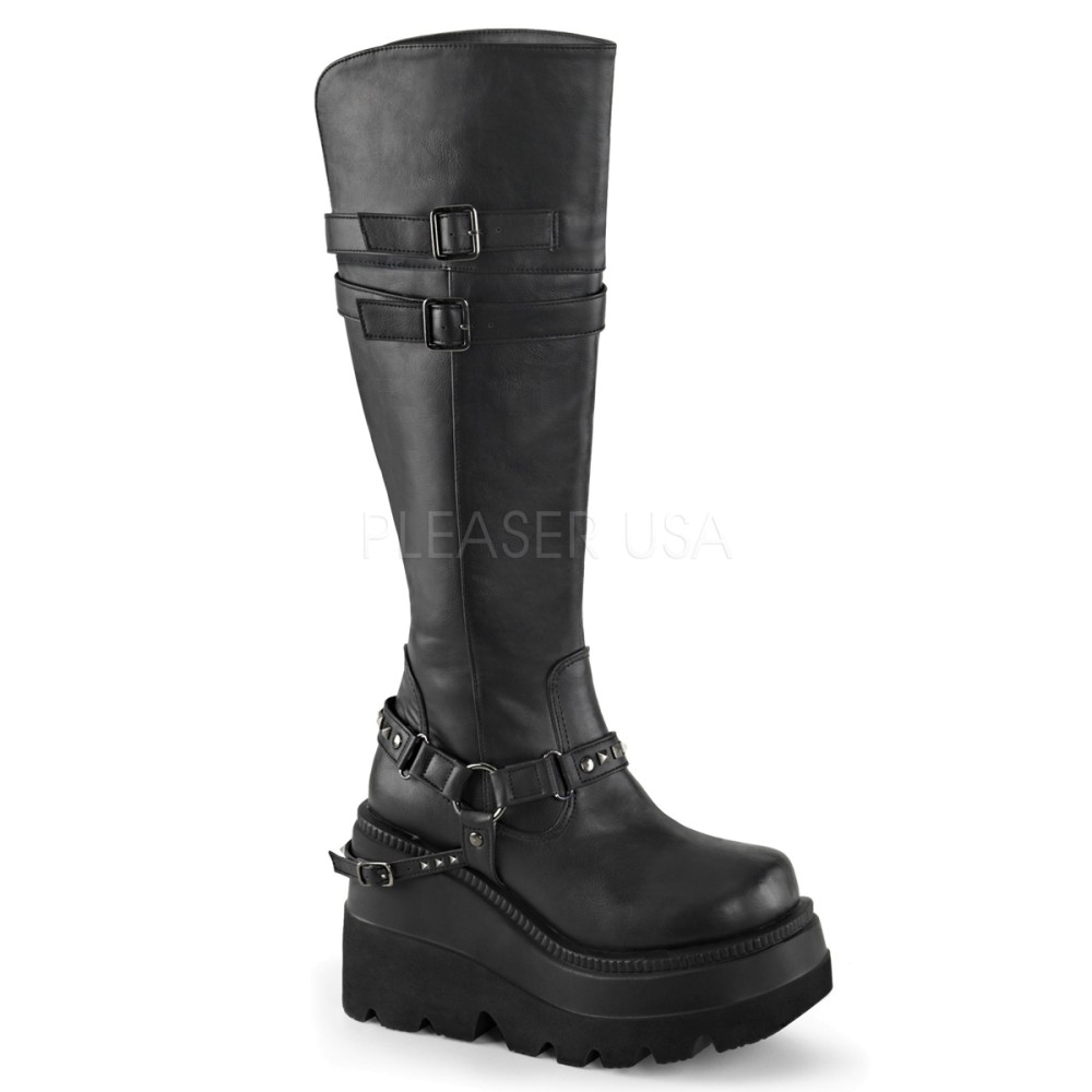 Demonia - Womens SHAKER-101 Vegan Boots
