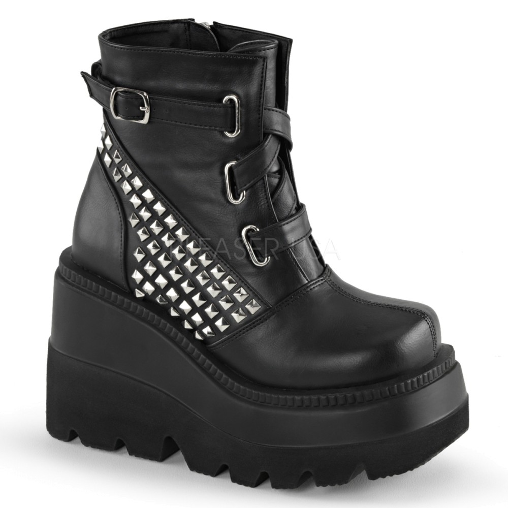Demonia - Womens SHAKER-50 Vegan Boots