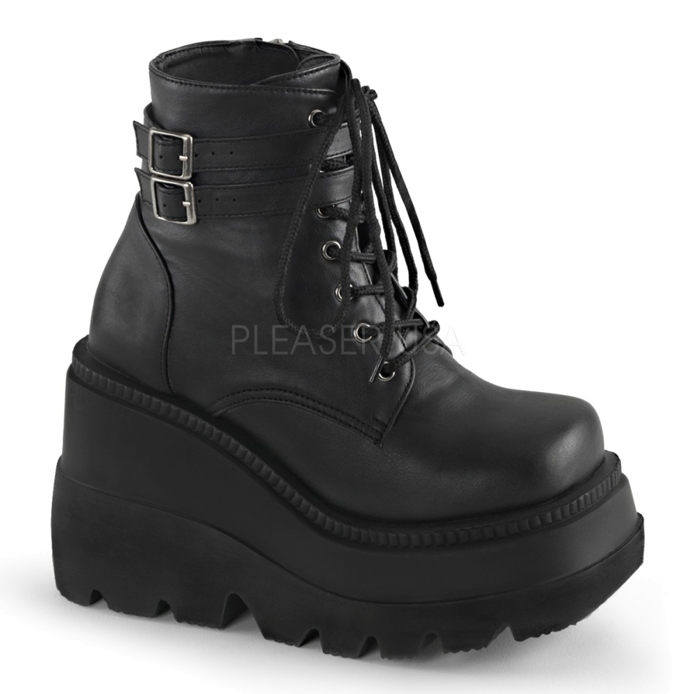 Demonia - Womens SHAKER-52 Vegan Boots
