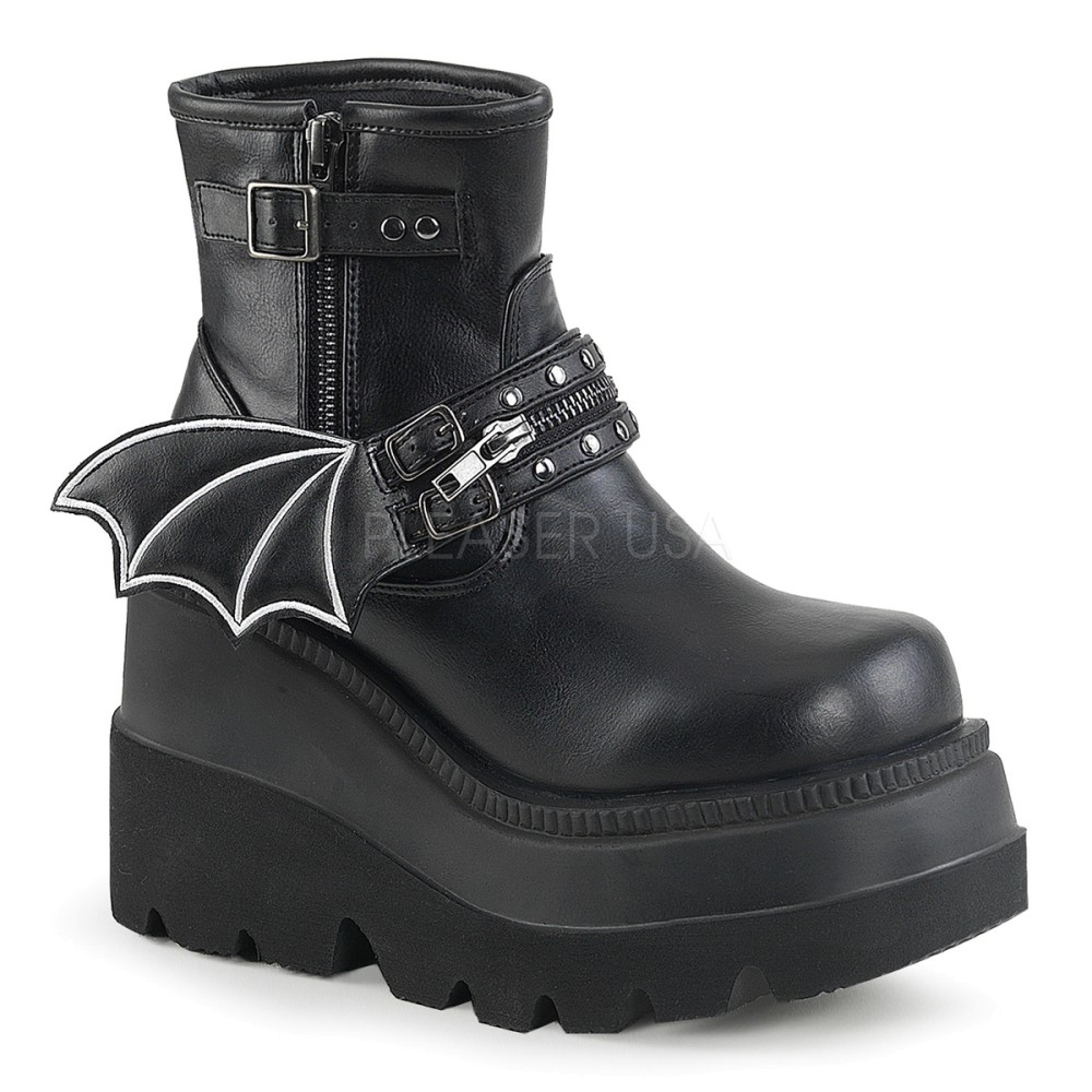 Demonia - Womens SHAKER-55 Vegan Boots