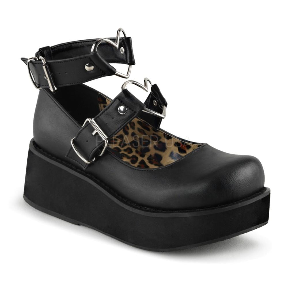 Demonia - Womens SPRITE-02 Platform Sandals & Shoes