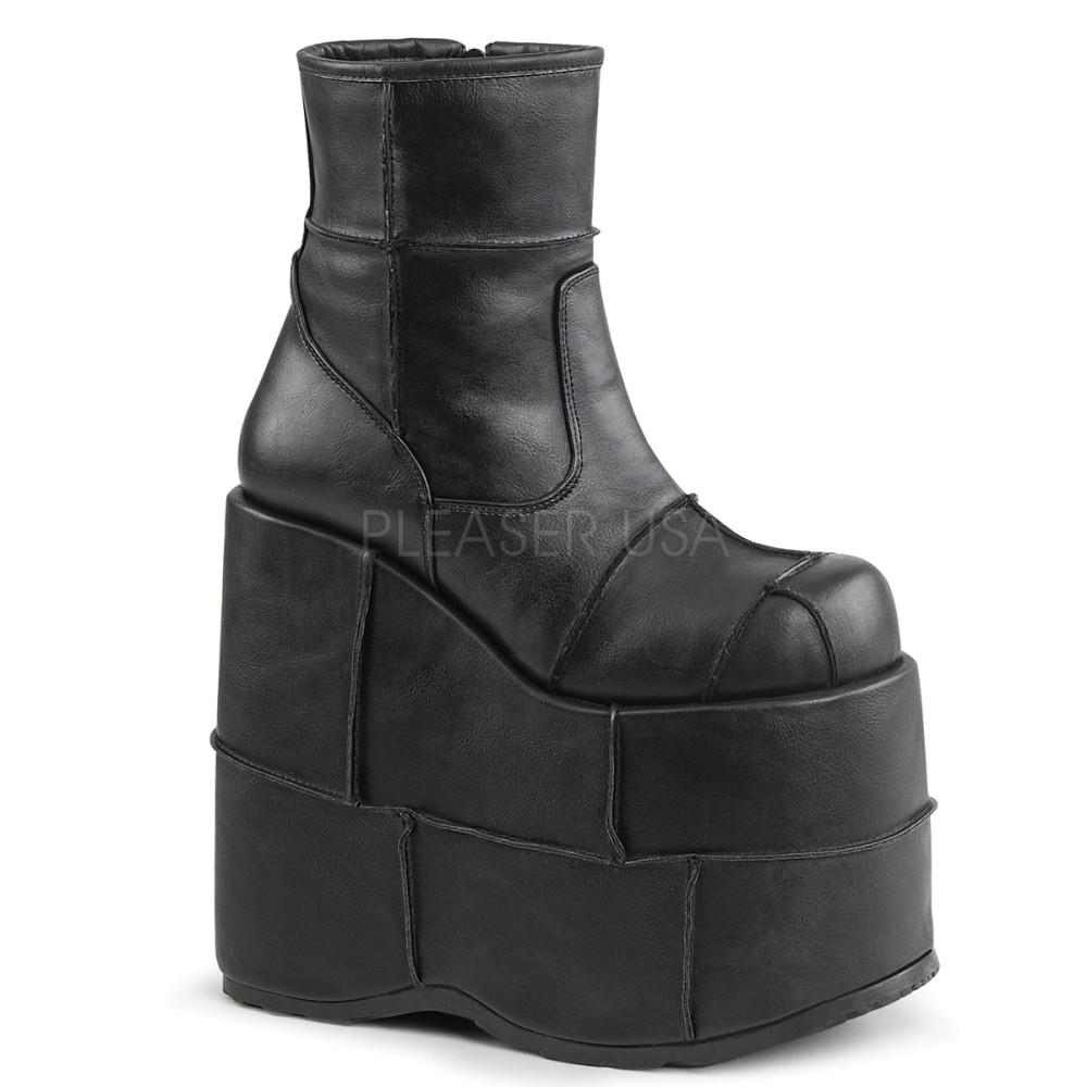 Demonia - Mens STACK-201 Vegan Boots