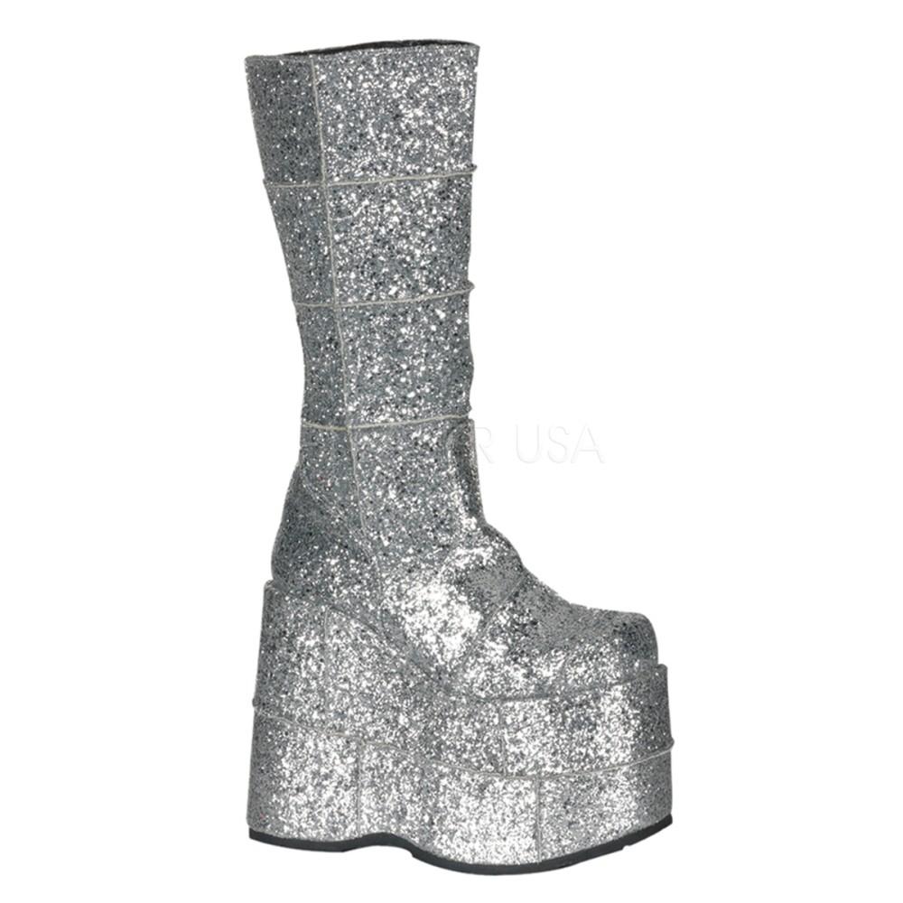 Demonia - Mens STACK-301G Vegan Boots