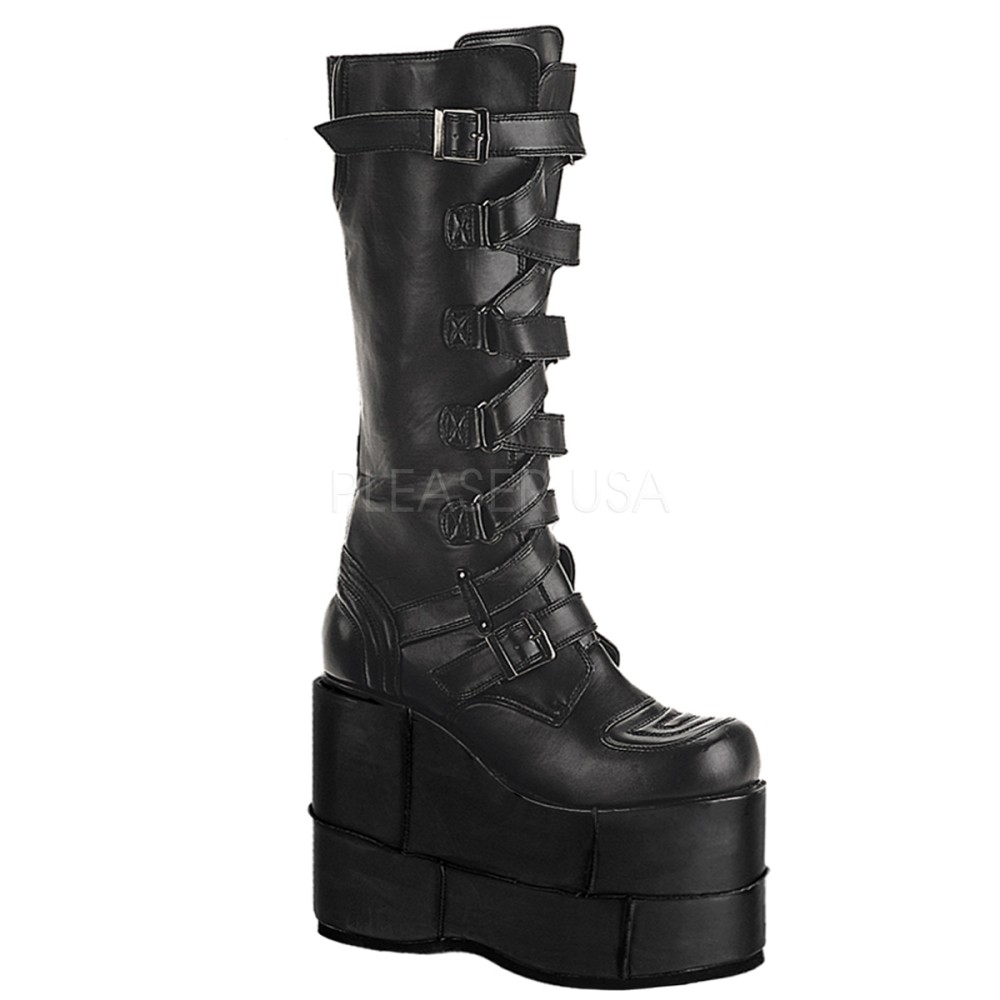 Demonia - Mens STACK-308 Vegan Boots