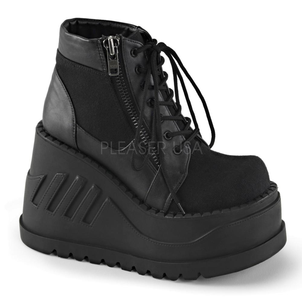 Demonia - Womens STOMP-10 Vegan Boots
