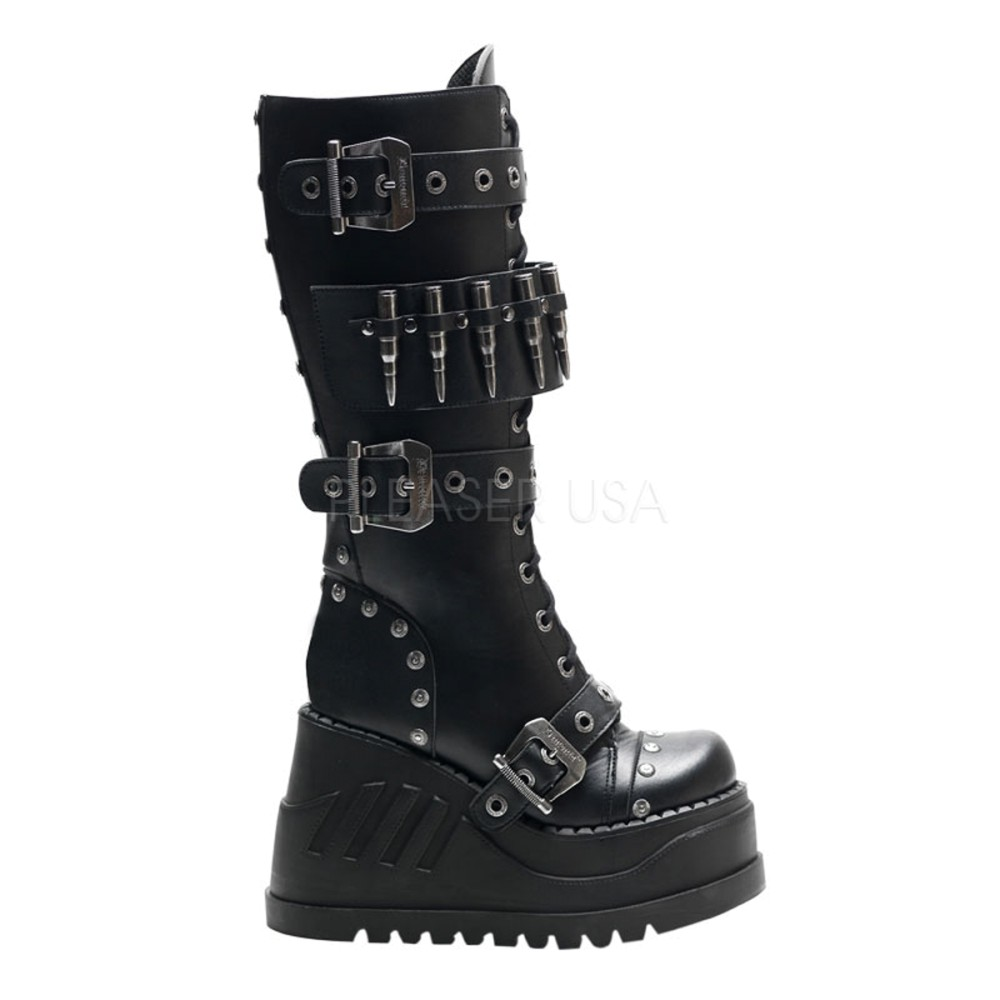 Demonia - Womens STOMP-314 Vegan Boots