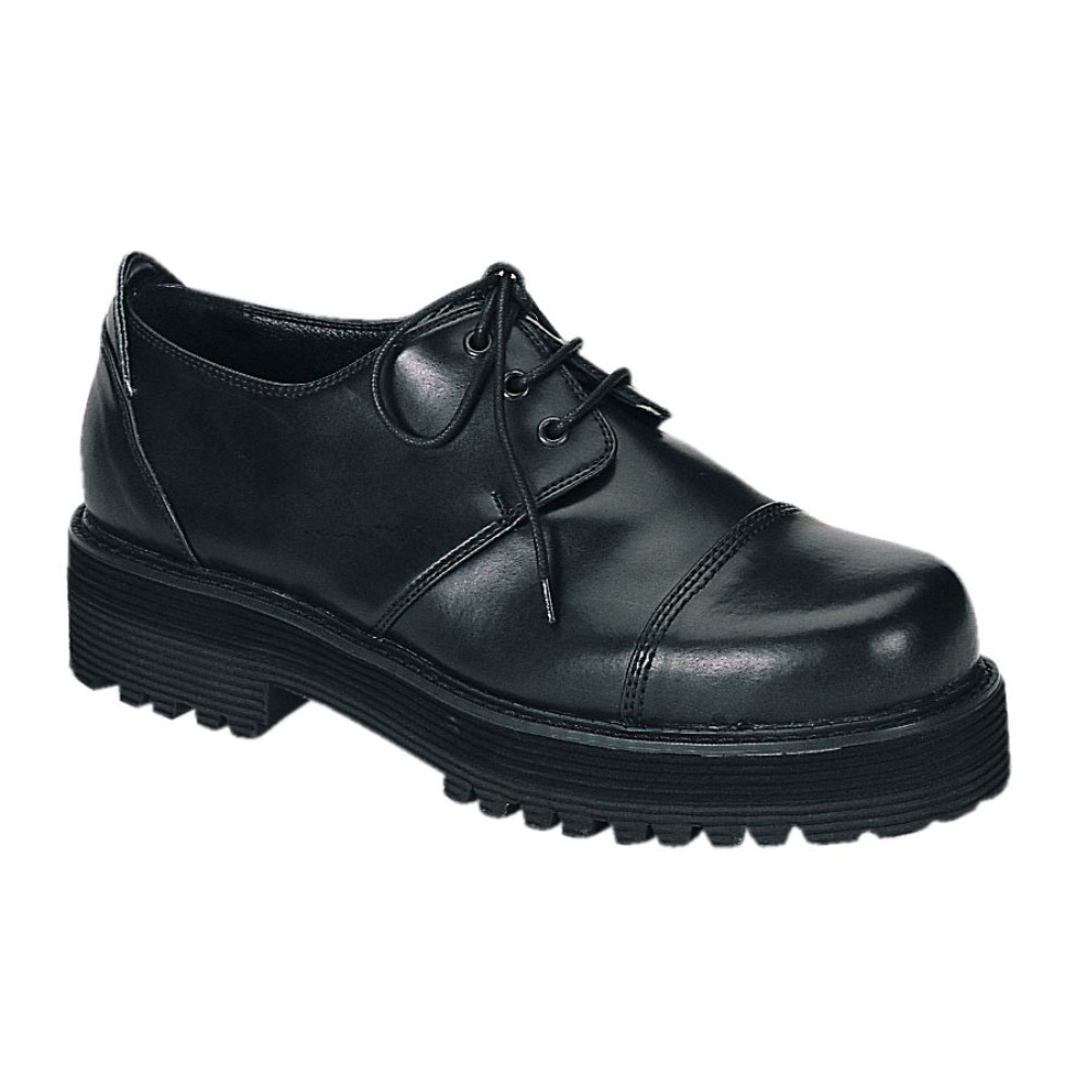 Demonia - Mens STREET-501 Leather Shoes & Boots