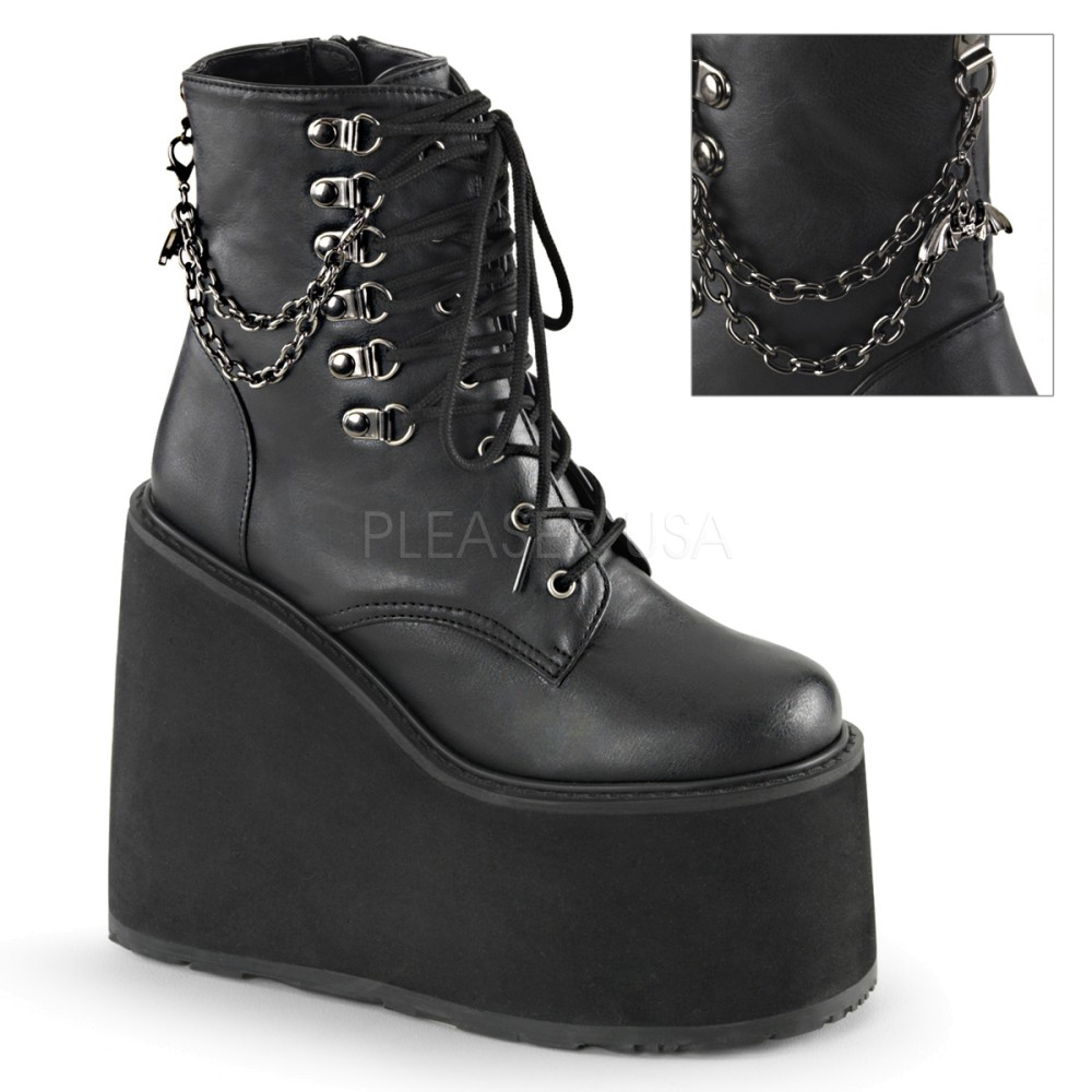 Demonia - Womens SWING-101 Vegan Boots