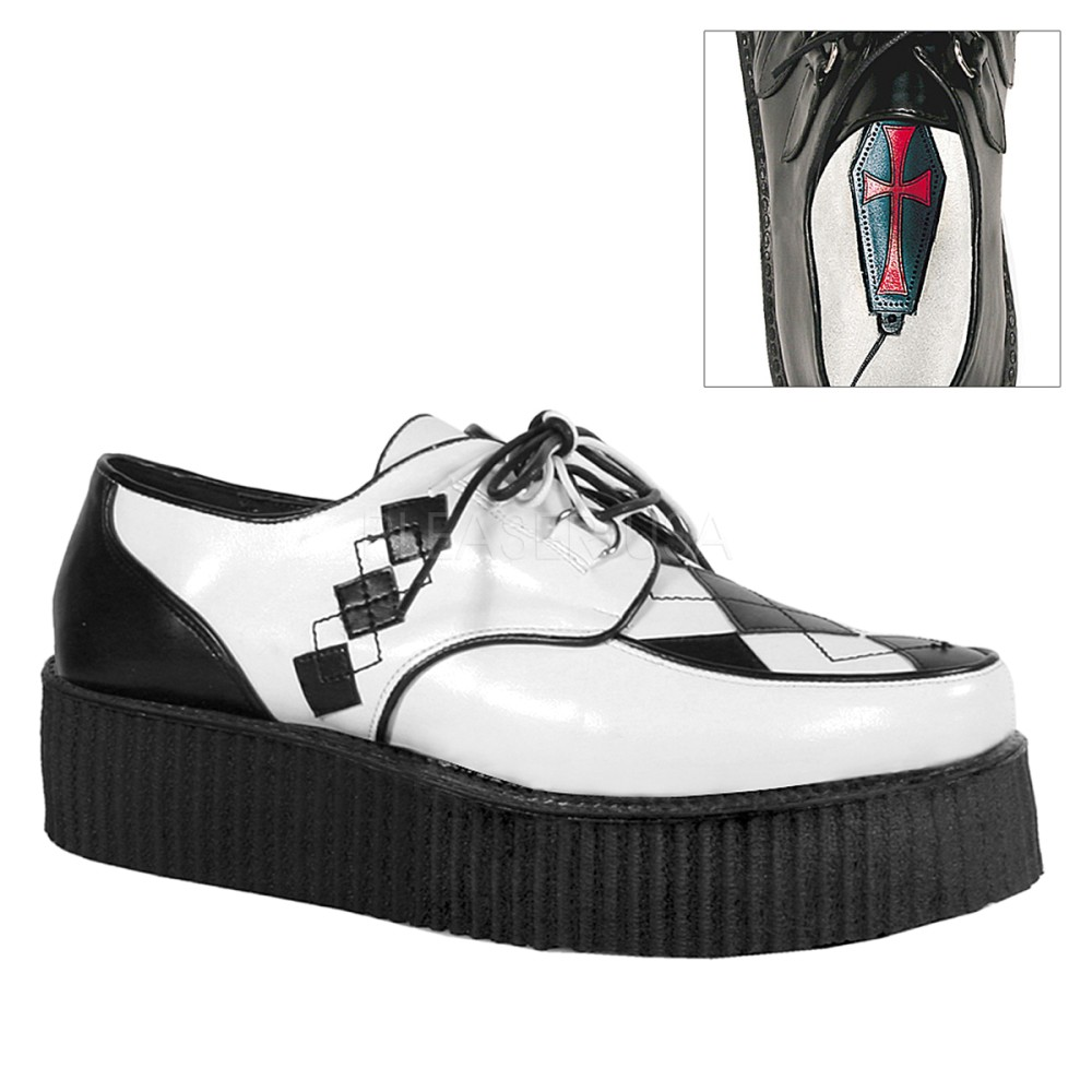 Demonia - Mens V-CREEPER-510 Creepers