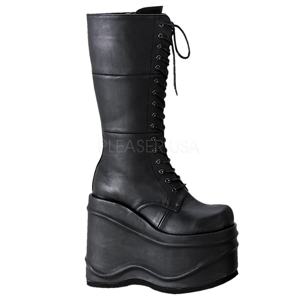Demonia - Womens WAVE-302 Vegan Boots