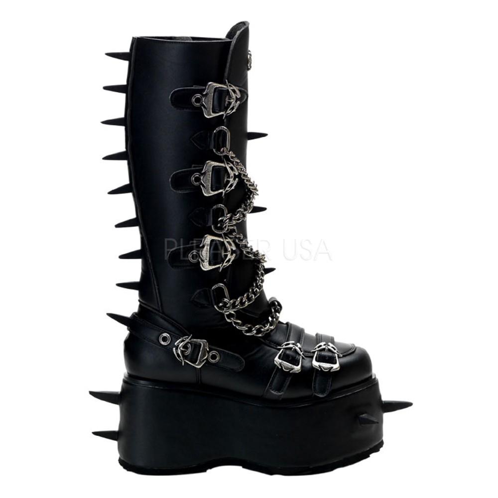 Demonia - Unisex WICKED-808 Vegan Boots